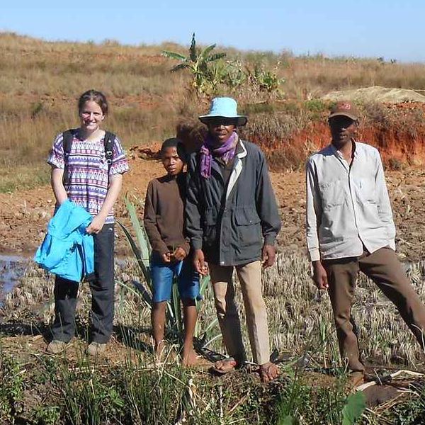 Eloïse en route pour un volontariat à Madagascar
