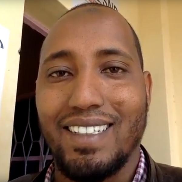 Live testimony from Kenya