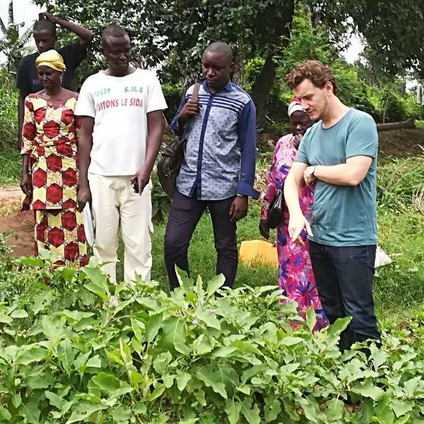 Jeremy visits Congo
