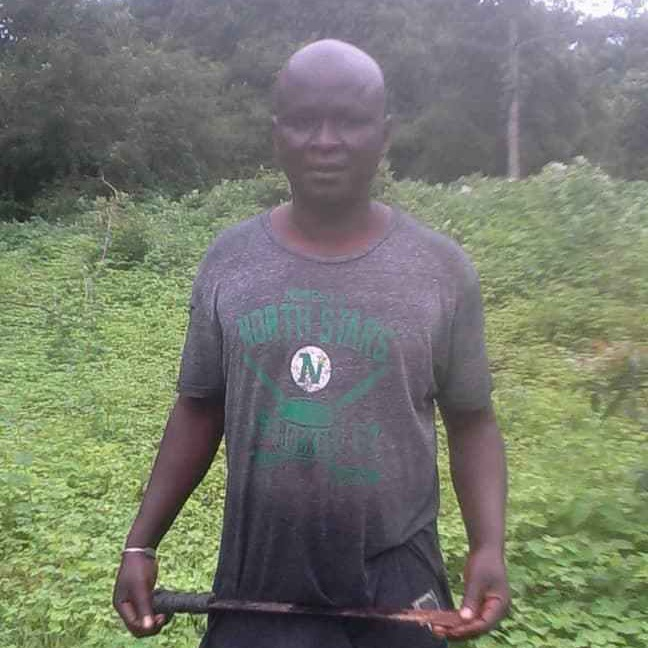 Joseph, coordinator in Casamance